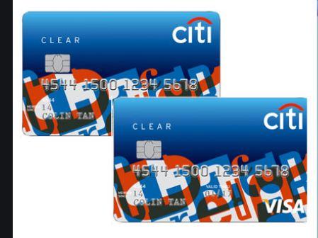 Citi Clear Platinum Card