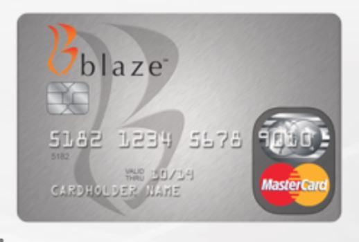 Blaze Credit Card Application