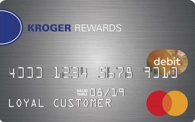 Kroger rewards debit card